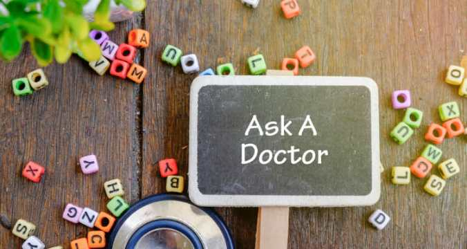 Ask a doctor adj